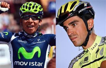 "Alberto Contador: ""Nairo Quintana se está arriesgando en el Giro"""