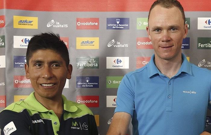 Chris Froome y la ventaja contra Nairo Quintana que disgusta a Colombia
