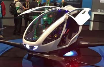 Dubái presenta su primer coche volador