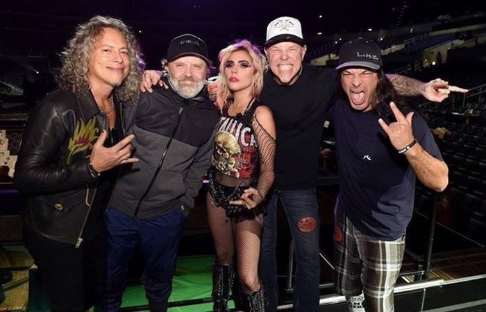 Grammy 2017: La fallida presentación de Lady Gaga y Metallica