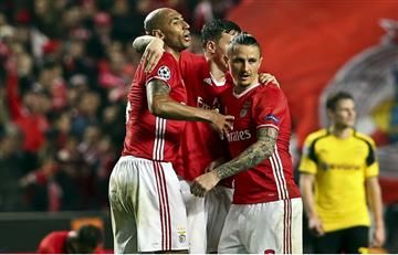 Benfica hizo la tarea y venció al Dortmund