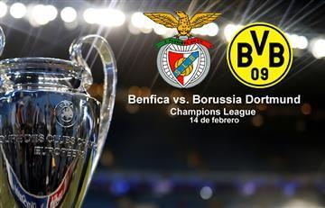 Benfica vs. Borussia Dortmund (EN VIVO)