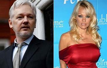 Pamela Anderson y Julian Assange ¿Tendrían un romance?
