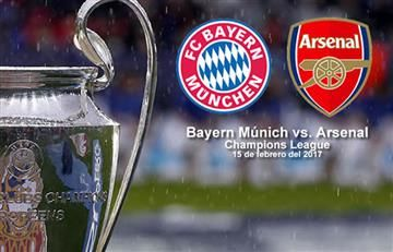 Bayern Múnich vs. Arsenal: Transmisión EN VIVO