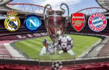 Champions League: Hora y transmisión de los partidos de hoy miércoles