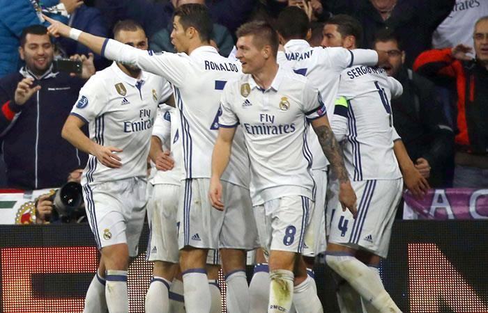 El Real Madrid le cumple a su hinchada y vence al Napoli