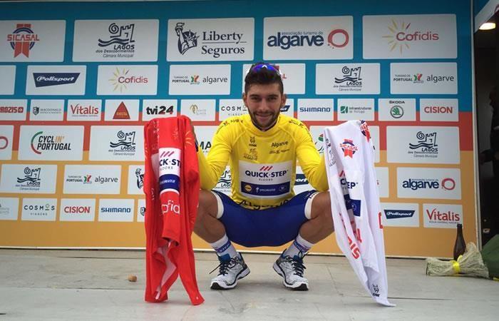 Fernando Gaviria le gana a los mejores del mundo en Algarve