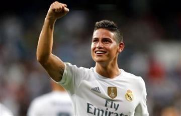 James Rodríguez vuelve a la titular del Real Madrid