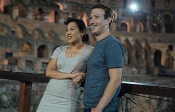 Mark Zuckerberg celebró San Valentín de la mejor manera