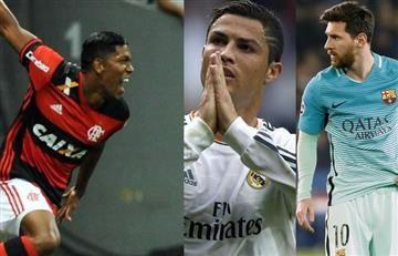 Orlando Berrío es mejor que Cristiano Ronaldo y Messi en esto
