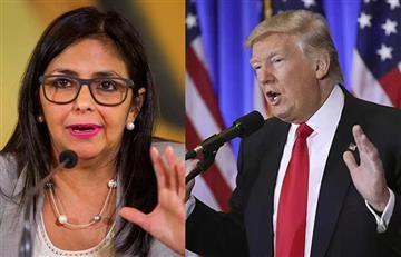 """Canciller venezolana rechaza la """"intromisión"""" de Trump"""