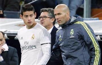 James Rodríguez y Zidane: ¿Buena o mala relación entre ambos?