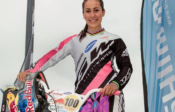 Mariana Pajón contestó épicamente a una crítica por su cicla