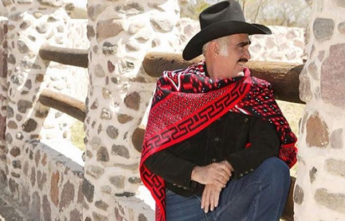 Vicente Fernández sorprende a los seguidores con su cambio físico