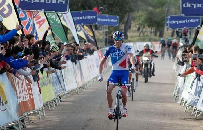 Vuelta a Andalucía: Contador nuevo líder y Rigoberto mejor colombiano