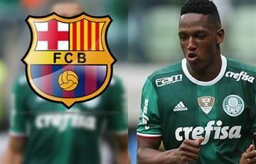 Yerry Mina ya tendría fecha para llegar al Barcelona