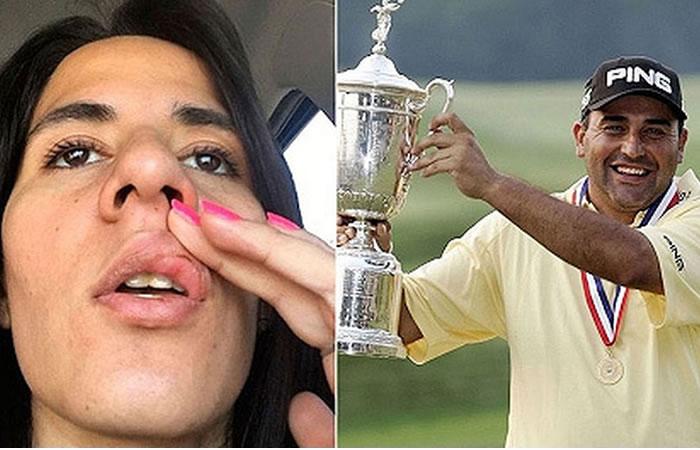 Asi fue terrible agresión del golfista Ángel Cabrera a su pareja