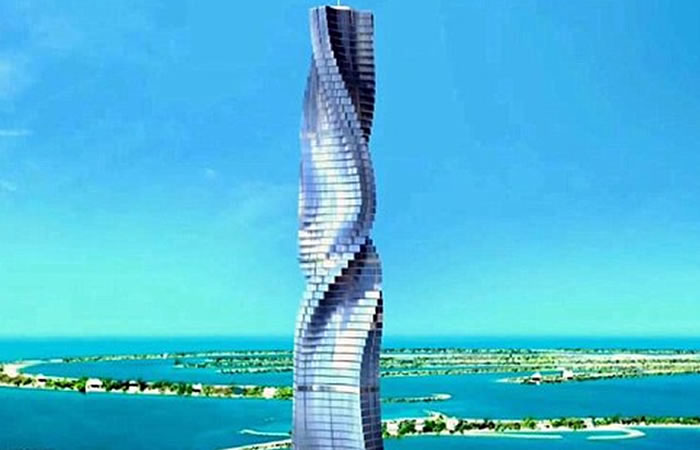 Dynamic Tower Hotel. Foto: Youtube