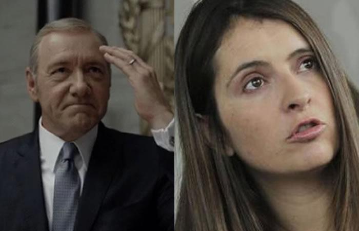 House of Cards envía curioso mensaje a Paloma Valencia