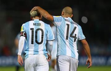 Mascherano no ve razones para un divorcio entre Messi y el Barcelona
