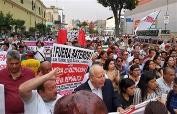 Odebrecht: Cerca de 2.000 personas marcharon en Lima contra la corrupción