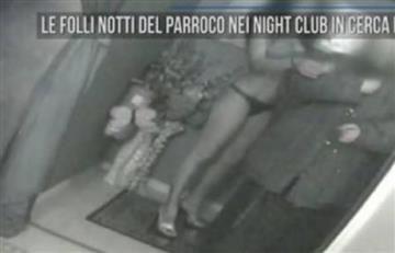 Viral: Sacerdote fue sorprendido en un club nocturno con prostitutas