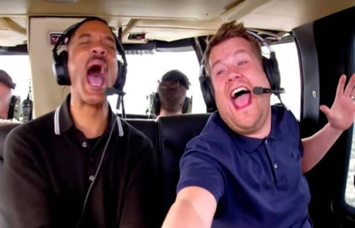 Will Smith revive 'El Principe del Rap' enCarpool Karaoke