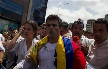 Leopoldo López convoca a marchas tras tres años en prisión