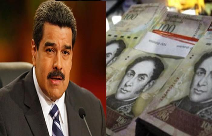 Maduro: Extiende la vigencia del billete de 100 bolívares