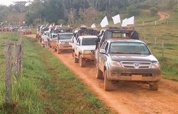Último frente de las Farc llega a la zona de concentración en Caquetá