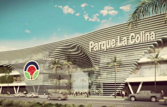 Centro Comercial Parque la Colina. Foto: Twitter