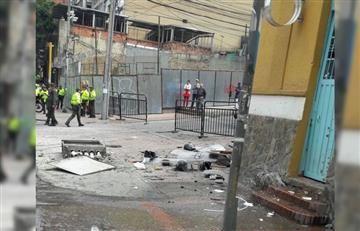 Explosión cerca a la Plaza de Toros de Bogotá deja 10 heridos