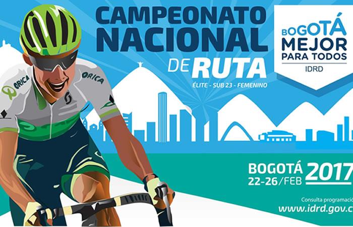 Campeonato Nacional de Ruta de Bogotá: Este es el recorrido oficial