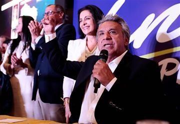 Ecuador: Lenín Moreno encabeza los resultados de las elecciones