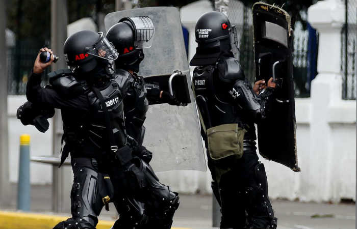 Bogotá: Patrullero del Esmad tiene muerte cerebral por explosión