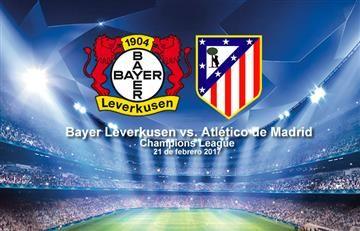 Leverkusen vs. Atlético de Madrid: Transmisión EN VIVO