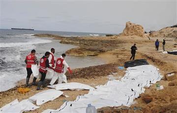 Libia: Rescatan 74 cadáveres de migrantes