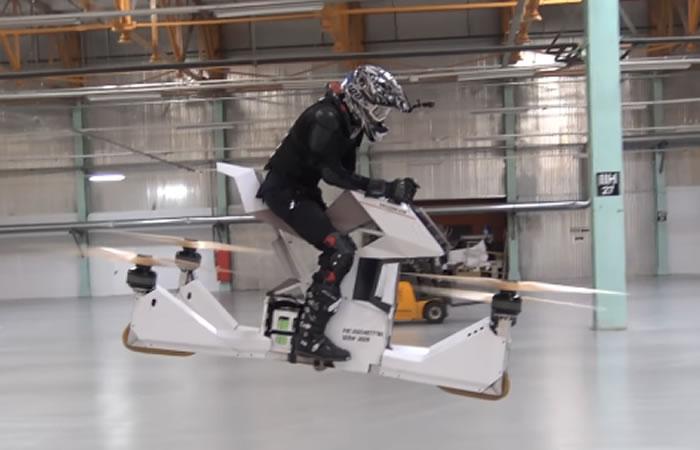 Scorpion-3: La moto voladora que está a la venta
