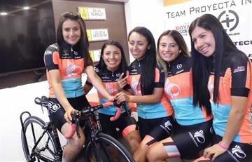 El ciclismo femenino en Colombia tiene un nuevo equipo profesional