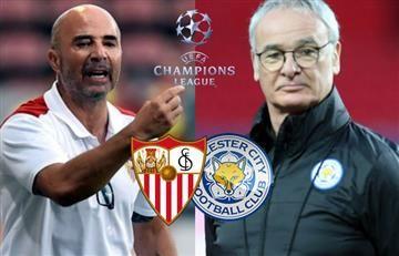Sevilla vs. Leicester: Hora y transmisión EN VIVO