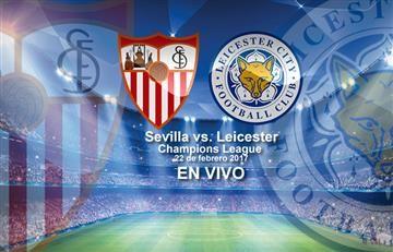Sevilla vs. Leicester: Transmisión EN VIVO