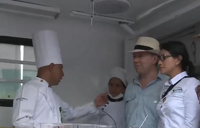¿Zonas veredales de las Farc cuentan con chef y hornos eléctricos?