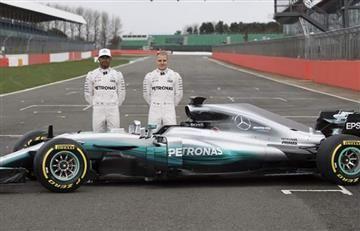 Hamilton y Bottas presentan el auto más temido de la F1