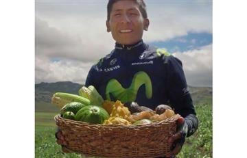 Nairo Quintana y el emotivo mensaje al campesinado colombiano