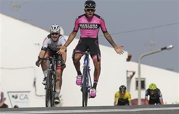 Sebastián Molano ganó en la tercera etapa de la Vuelta al Alentejo