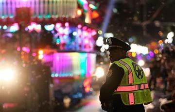 Vehículo choca con multitud en Nueva Orleans y deja 28 heridos