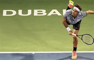 Roger Federer inició con buen pie el Abierto de Dubai