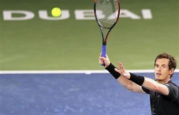 Murray avanza y Wawrinka cae sorpresivamente en el ATP de Dubai