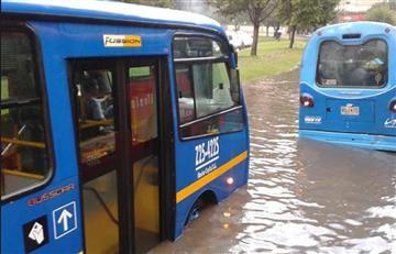 Bogotá: Así registran las redes los efectos del fuerte aguacero