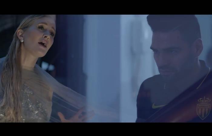 Falcao García: Emotivo video musical de su esposa Lorelei Taron